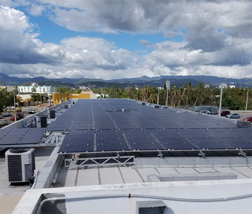Instalación comercial / Centro Sor Isolina Ferre / PlanetSolar / Puerto Rico