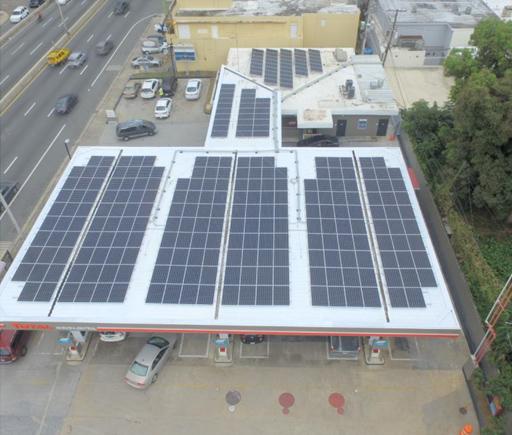 Instalación Comercial / Gasolinera Total / PlanetSolar / Puerto Rico
