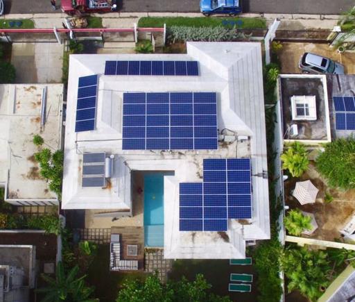 instalación residencial / Residencia Fossas / PlanetSolar / Puerto Rico