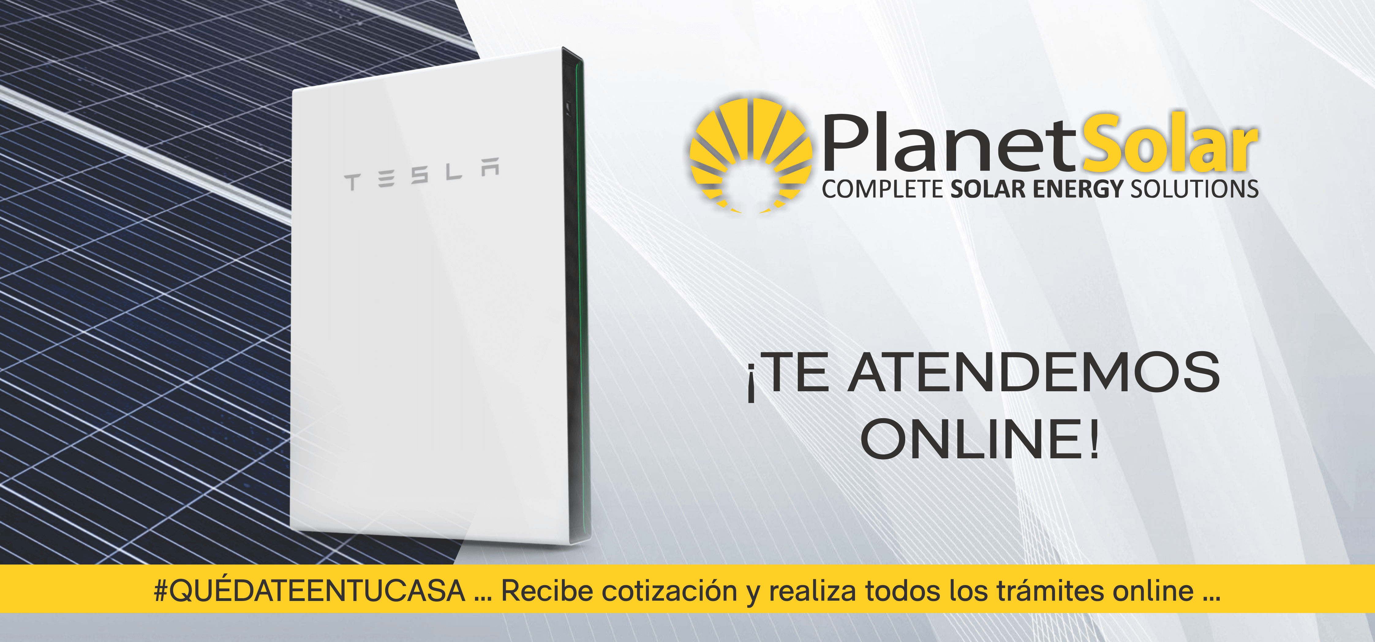 PlanetSolar - Te atendemos online